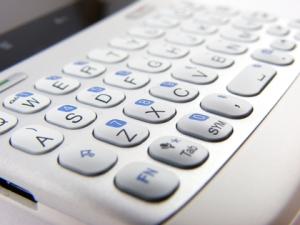 Le clavier du HTC ChaCha
