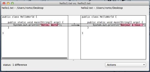 Xcode's FileMerge